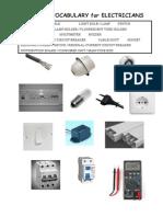 Basic Vocab for Electriciasns