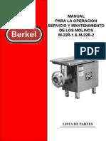 Manual d usuario Molino M-22 R1 & R2.ppt