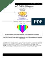 PFLAG Buffalo-Niagara Newsletter