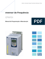 WEG Cfw701 Manual Portugues Br
