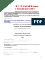ISOLA DELLE FEMMINE Palermo Scoperti Fusti Di Scorie Radioattive