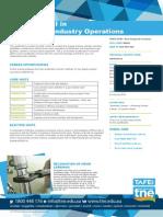 UEG30114 Cert III Gas Supply