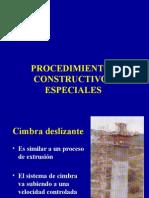 PROCEDIMIENTOS ESPECIALES DE CIMBRADO