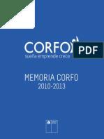 Memoria Corfo 2010-2013
