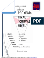 Proyecto de curvas de nivel