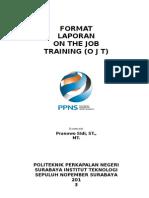 Format Laporan OJT 2013(1)