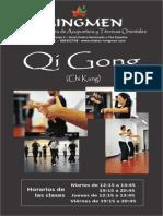 Qi Gong Información de Clases