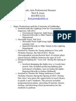 dramatic resume2
