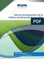Informe Coneval 2014