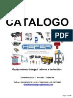 Hepea Catalogo de Productos 2013