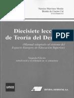 17 Leccciones de Teoría del Derecho.pdf
