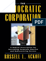 Ackoff - The Democratic Corporation (1994)