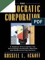 Ackoff - The Democratic Corporation (1994)