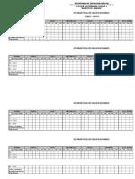 Estadística de Calificaciones