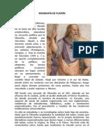 (438079193) Biografía de Platón