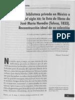 Touissant, Manuel - Una biblioteca privada en México a principios del siglo XIX.pdf
