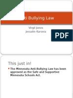 anti-bullying law presentation