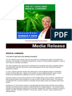 hb ind press release 28 01 15 medical cannabis