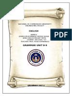 GRAMMAR 8-9