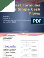 Module 6_Single Cash Flow Formulas