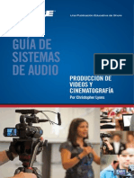 Audio Systems Guide for Video Spanish