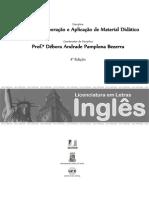 Elaboração e aplicação de material didático em língua inglesa