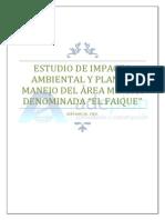 Estudio de Impacto Ambiental el Faique