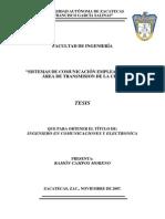 Sistemas de Comunicación Empelados en El Área (20)