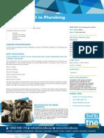 CPC32413 Cert III Plumbing