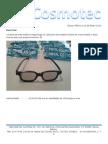 Cotización Lentes 3D RealD y Otras Marcas