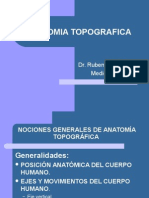 Nociones de Anatomia Topografica