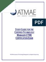 Ctm Exam Study Guide