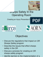 OSHA-AORN Sharps Injury Prevention Program May 2009