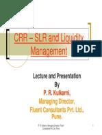 Crr Slr Liquiditymanagement
