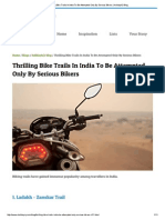 Thrilling Bike Trails in India to Be Attempted Only by Serious Bikers _ HolidayIQ Blog