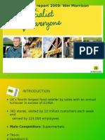 Financial Analysis of Morrisons-UK Retailer(accounting)