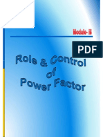 Role of  Control of Power Factor