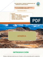 mineria, metalurgia y siderurgia