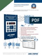 New Launch - Mod-Tronic MT300 Temperature Monitor/Alarm