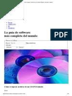 Cómo recuperar archivos de un CD_DVD dañado _ Tutoriales _ Softonic.pdf