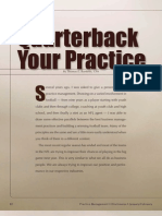 Quarterback Your Practice