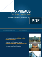 Introduction to Fxprimus Presentation