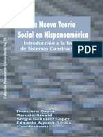 Nueva Teoria Social en Hispanoamerica Osorio Arnold