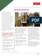 Avaya b5800 Branch Gateway - Brochure Final PDF