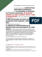 Lista de Exposiciones en Procesos de Manufactura Mecatronica