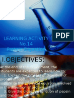 Experiment 14 biochem