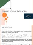 Project LTA (Lapka to Apka)