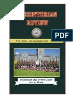 Presbyterian Review - July_September, 2014