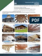 Flyer constructii lemn