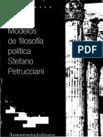 Modelos de Filosofia Politica